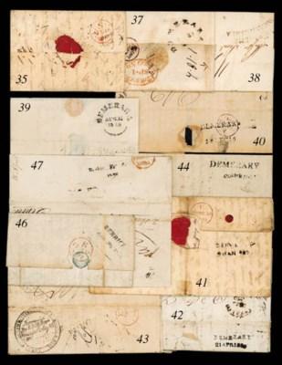 cover 1820 (21 Apr.) entire le