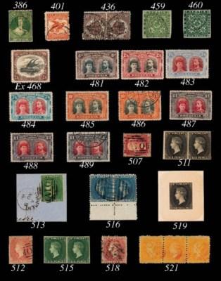 Proof  1866 (c.) 1/- stamp siz