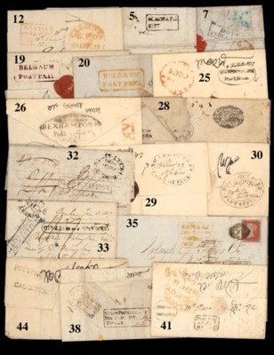 cover Burdwan: 1828 (12 Dec.)