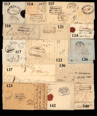 cover Madras: 1822 entire to N