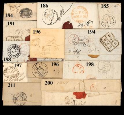 cover Rajpootana: 1825 (12 Feb