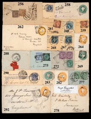 cover 1882 (8 Aug.) registered
