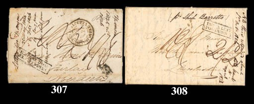 cover 1825 (25 May) entire let
