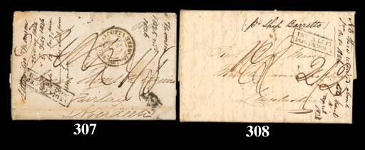 cover 1826 (11 Mar.) entire le