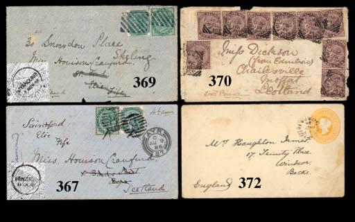 cover 1887 (11 June) envelope