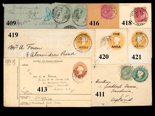cover 1903 (21 Dec.) envelope