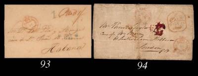 cover 1847 (1 Dec.) entire let