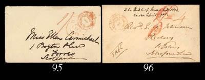 cover 1851 (5 Mar.) envelope t