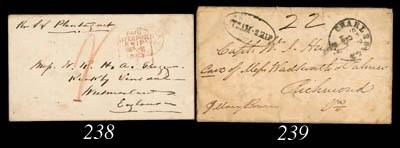 cover 1864 (19 Aug.) envelope