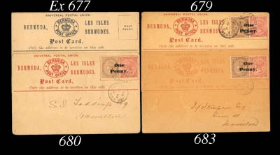 cover 1893 ½d.+1d. surcharged