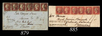 cover 1865 (17 Mar.) envelope