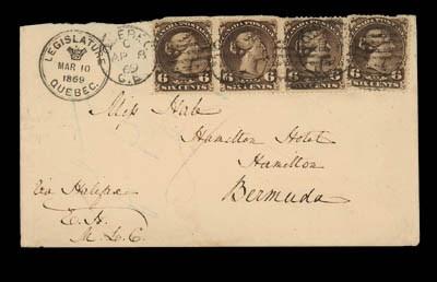 cover 1869 (10 Mar.) envelope
