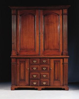 An English oak bookcase