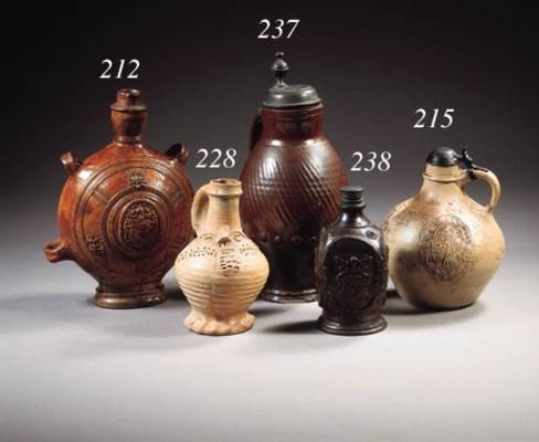 A rare Aachen-Raeren stoneware