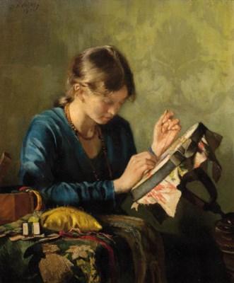 Jan Kleijntjes (Dutch, 1852-19