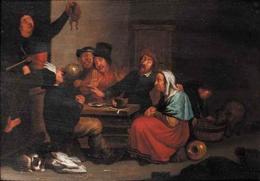 M.D. Hout after Cornelis Saftl