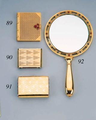A Gem-Set Mirror, By Cartier