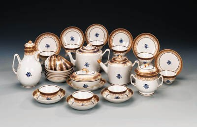 AN EXPORT PART TEA-SERVICE