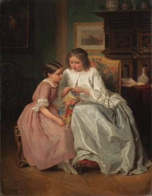Jules Trayer (French, 1824-190