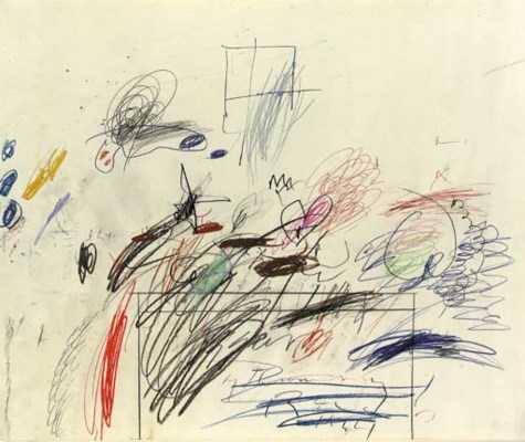 Cy Twombly (b. 1929)
