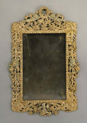 A CHARLES II GILT-GESSO AND SI