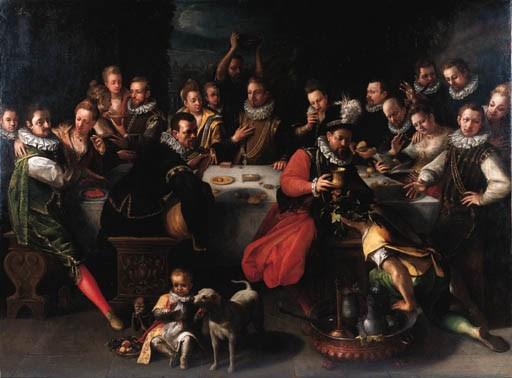 Circle of Joos van Winghe (Bru