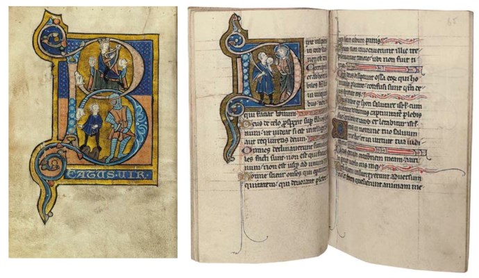PSALTER, with Calendar, Cantic