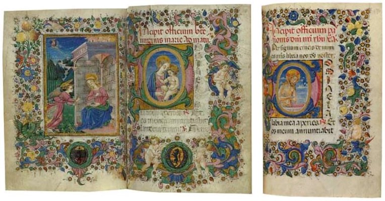 BOOK OF HOURS, use of Rome, in