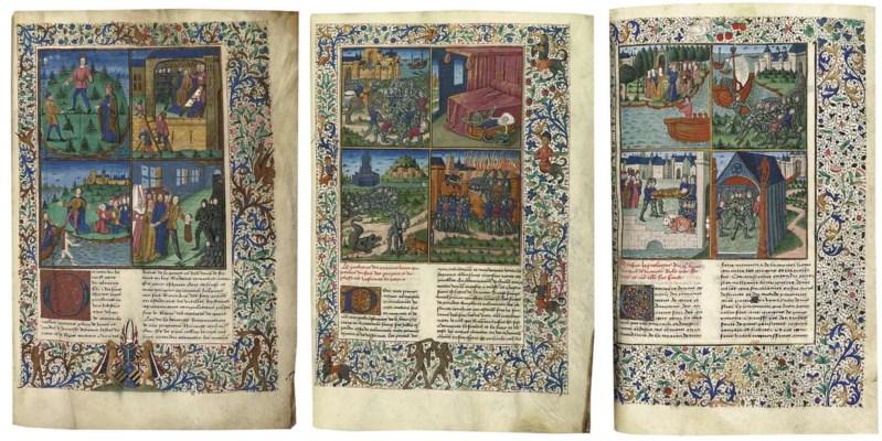 JEAN DE COURCY (fl.1420): La B