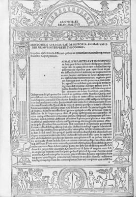 ARISTOTELIS (384-322 B.C.). De