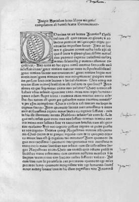 HOLZINGER, Conradus de Saxonia