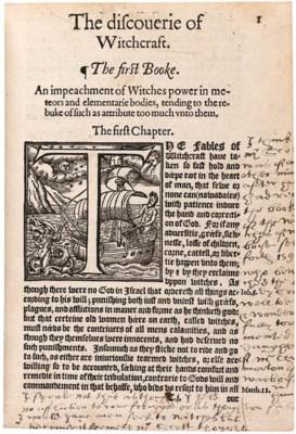 SCOT, Reginald (1538?-1599). T