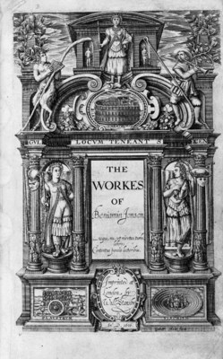 JONSON, Ben (1572/73-1637). Th