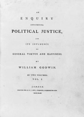 GODWIN, William (1756-1836). A