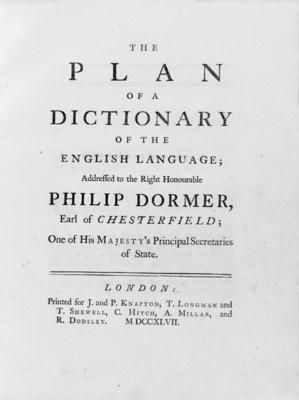 [JOHNSON, Samuel (1709-1784)].