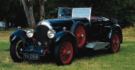 1927 BENTLEY 3 LITRE SPEED MOD