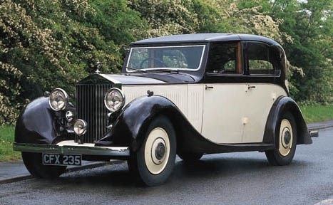 1936 ROLLS-ROYCE 20/25hp SEDAN