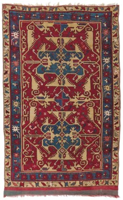 A 'LOTTO' USHAK RUG