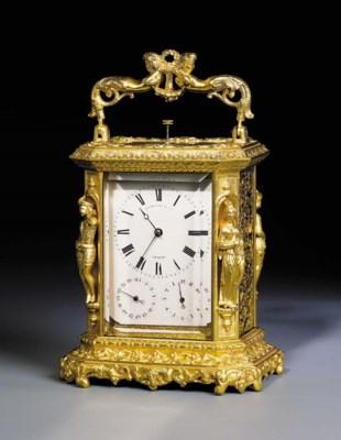 A Swiss gilt-brass grande sonn