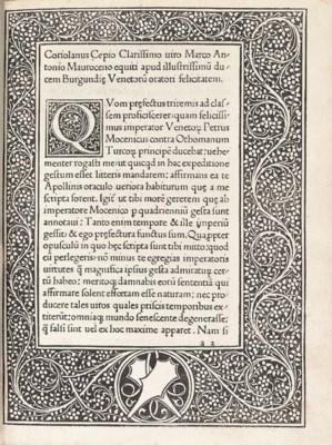 CEPIO, Coriolanus (1425-93). P