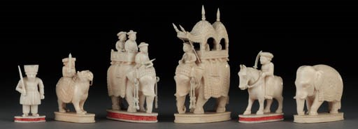 An Indian ivory John Company t