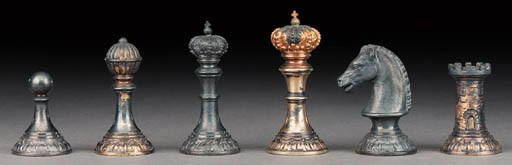 A Continental silver and silve