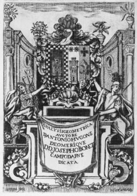 OMERIQUE, Antonius Hugo de  Analysis geometrica sive nova, e