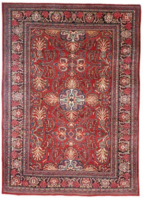A fine Mahal carpet, West Pers