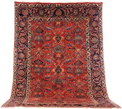 A fine Qazvin carpet, North Pe