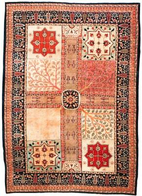 An antique Khoy Tabriz of Gard