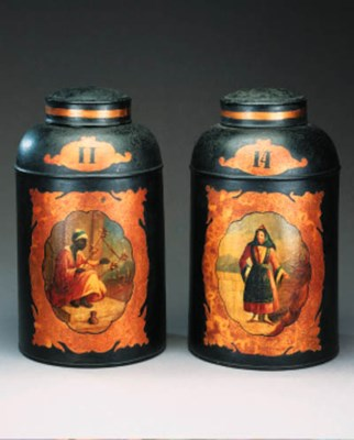 A pair of early Victorian japa