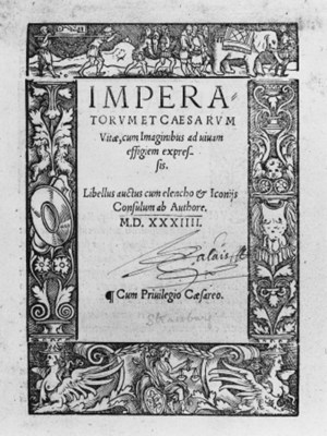 [HUTTICH, Johann]  Imperatorum