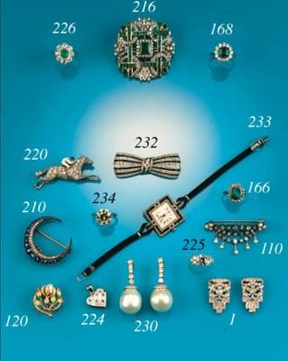 A Victorian, diamond and untes