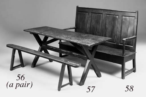 A pine tavern table, English,